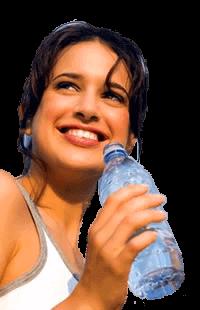 Brampton-Drinking-water-from-bottle