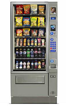 Merchant-4-Combo-Vending-Machine