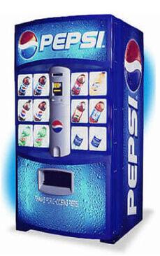 Pepsi-Pop-Machine